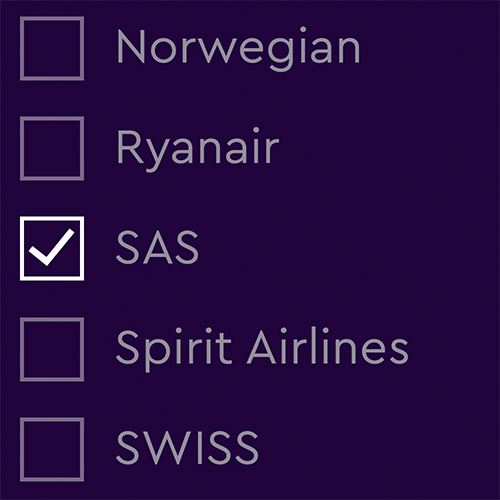Flyselskaber og Alliancer