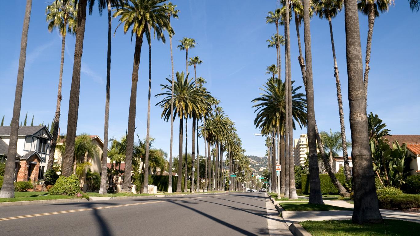 Mietwagen in Beverly Hills
