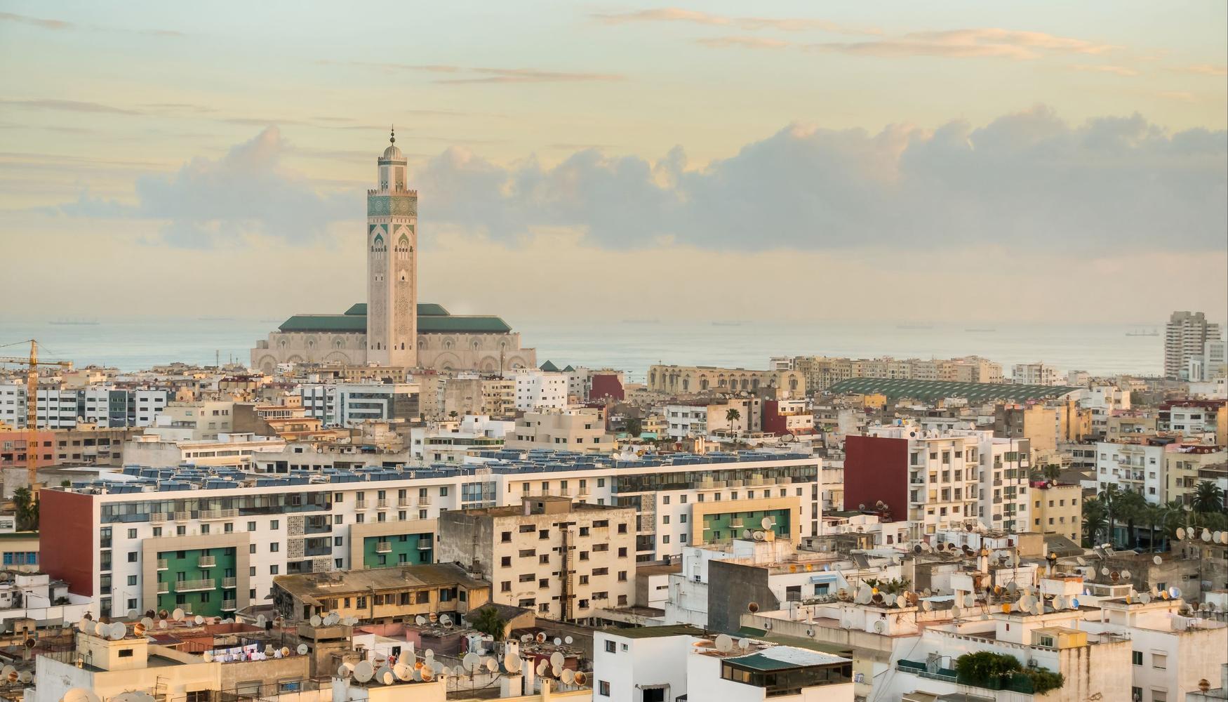 Autonvuokraukset Casablanca Mohammed V:n kansainvälinen lentoasema lentokenttä