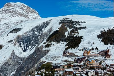 Ξενοδοχεία στην πόλη Les Deux-Alpes