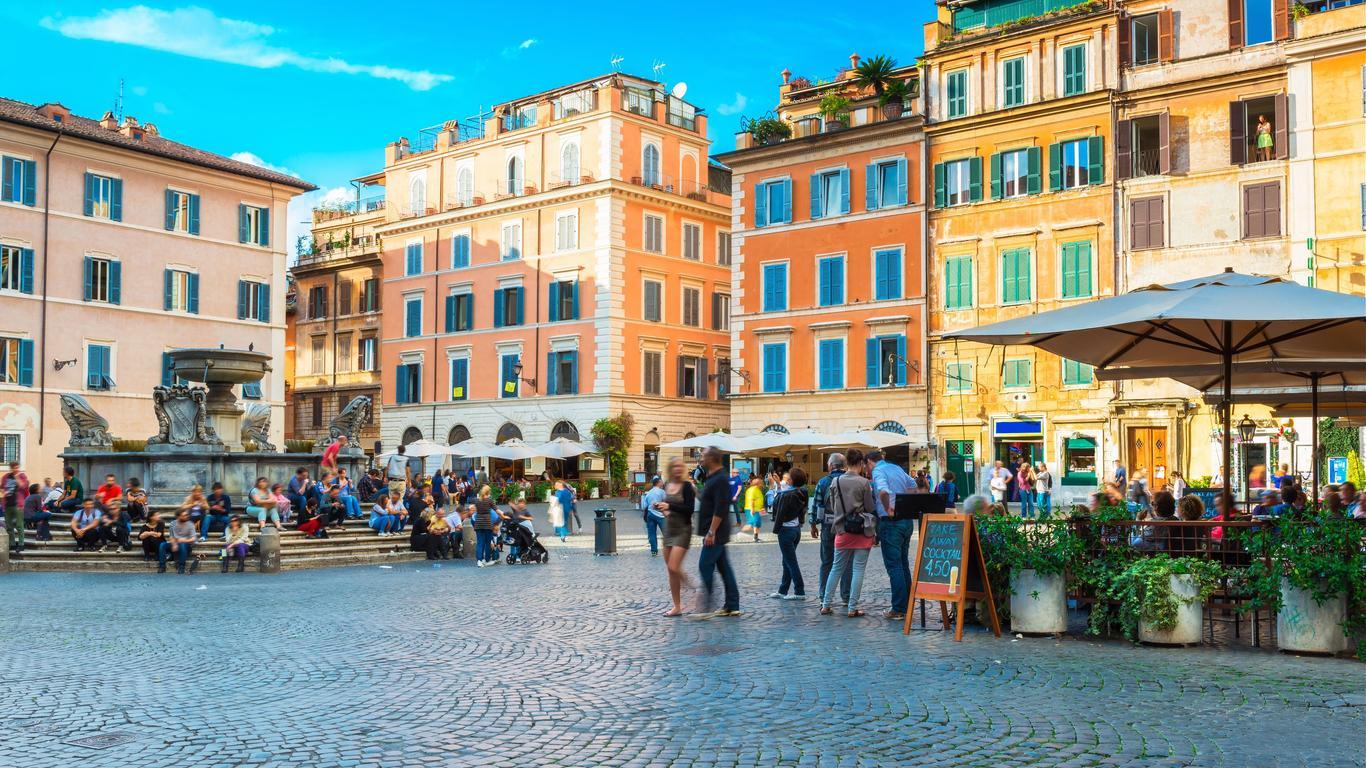 Biludlejning i Rom
