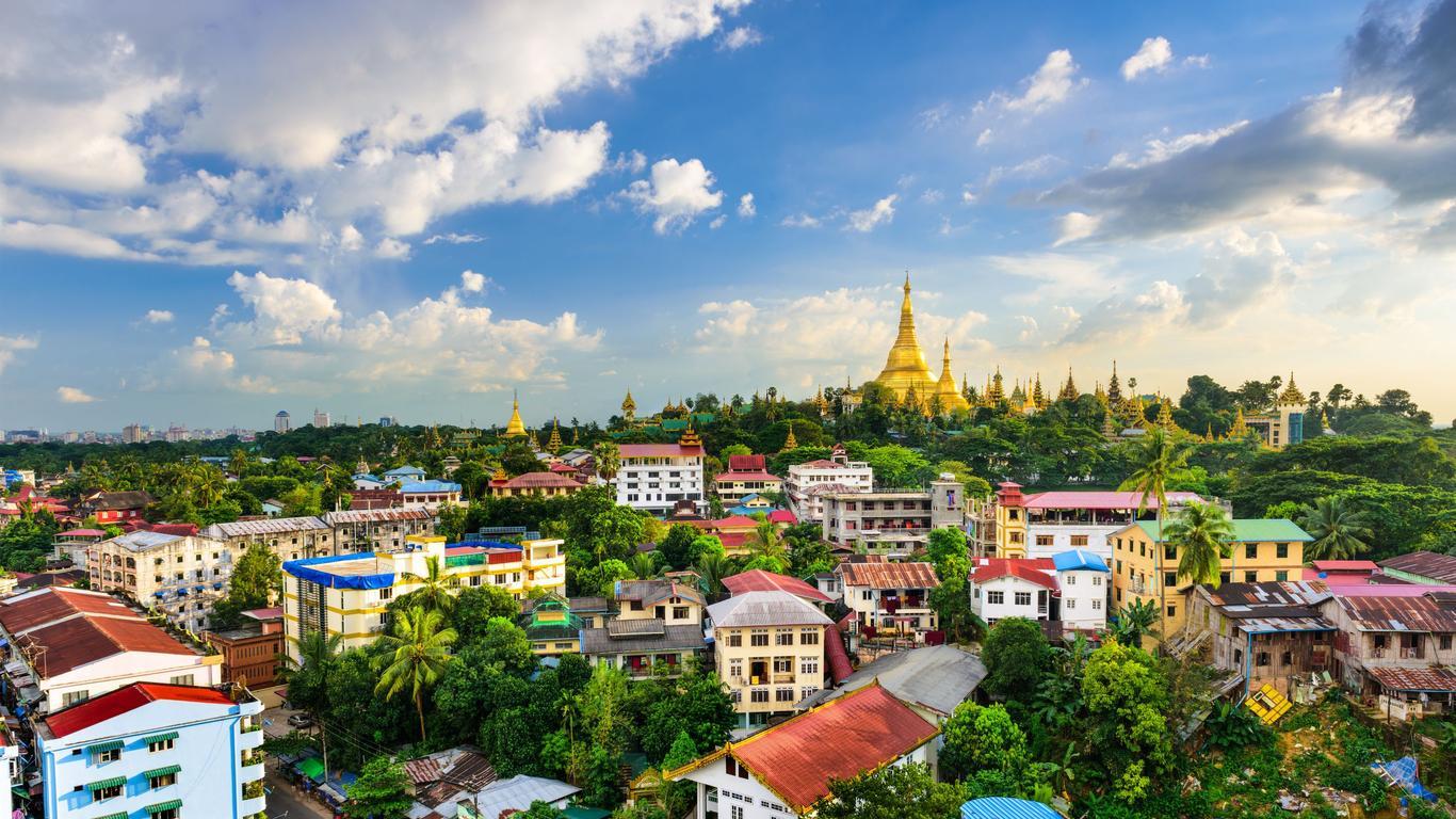Pronájem aut Yangon