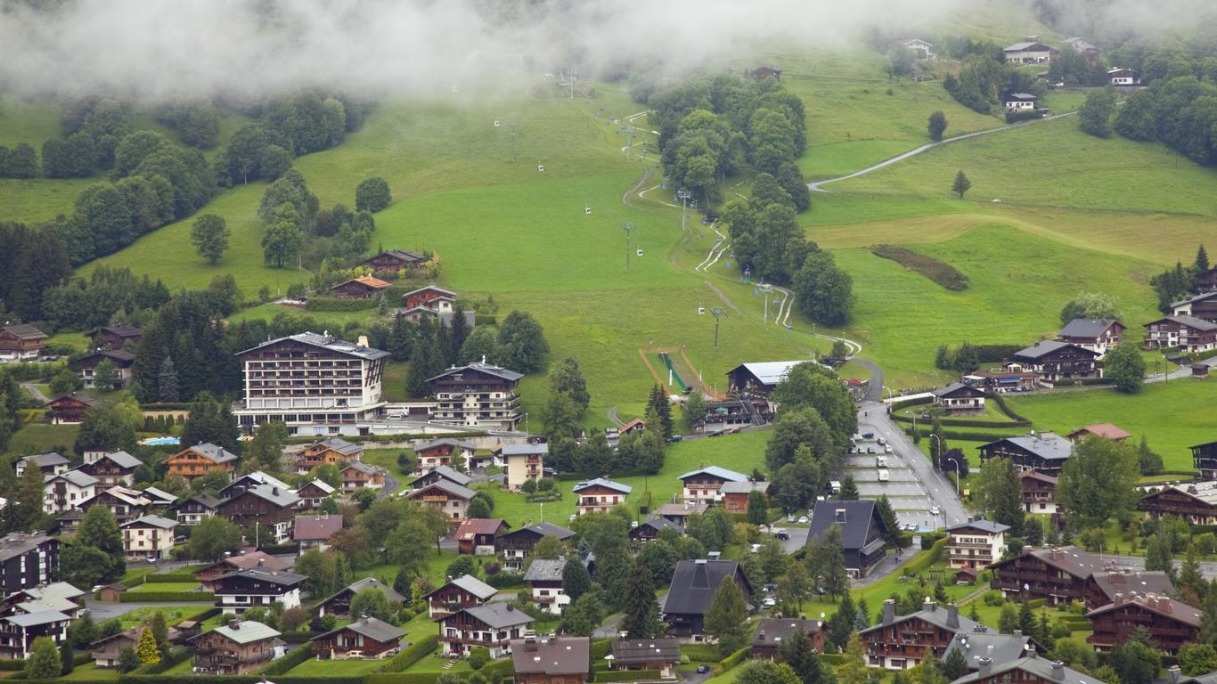 Coches de alquiler en Megève