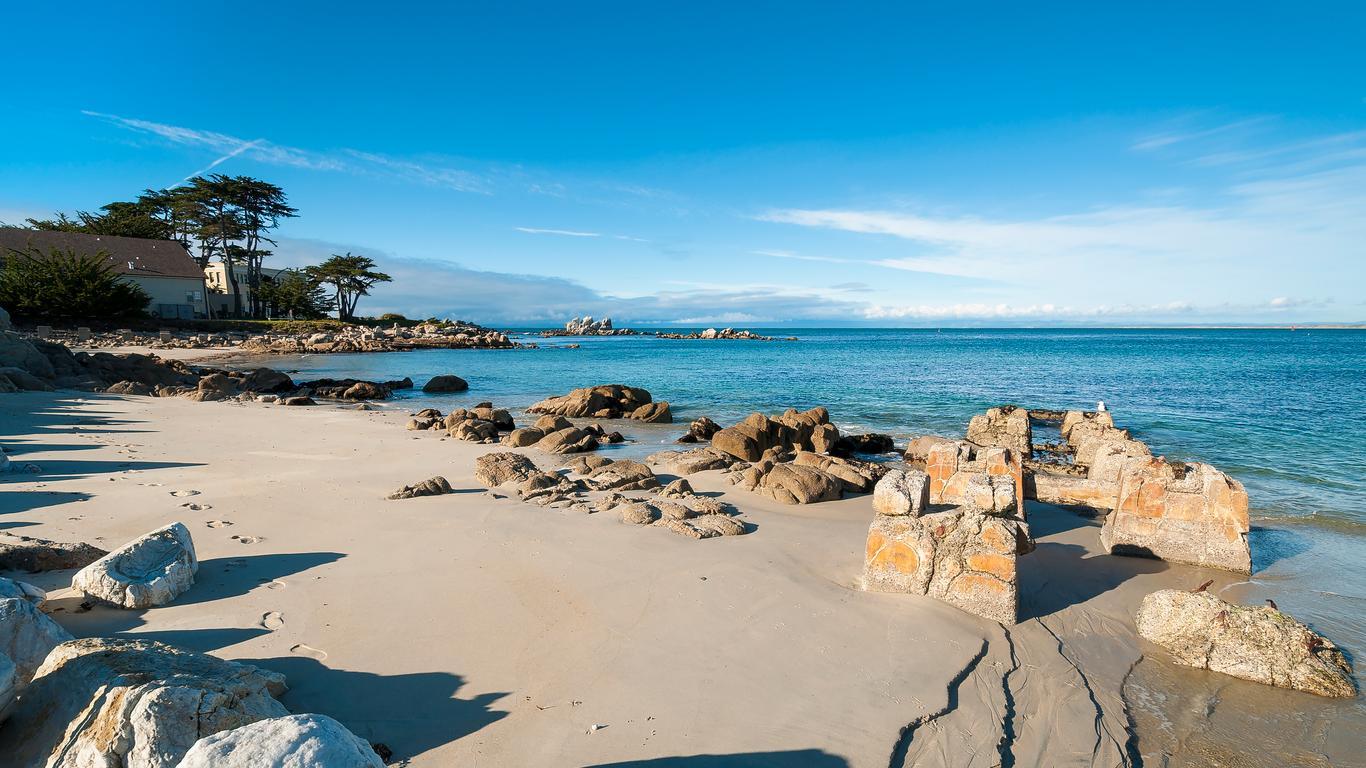 Hyrbilar på Monterey Regional flygplats