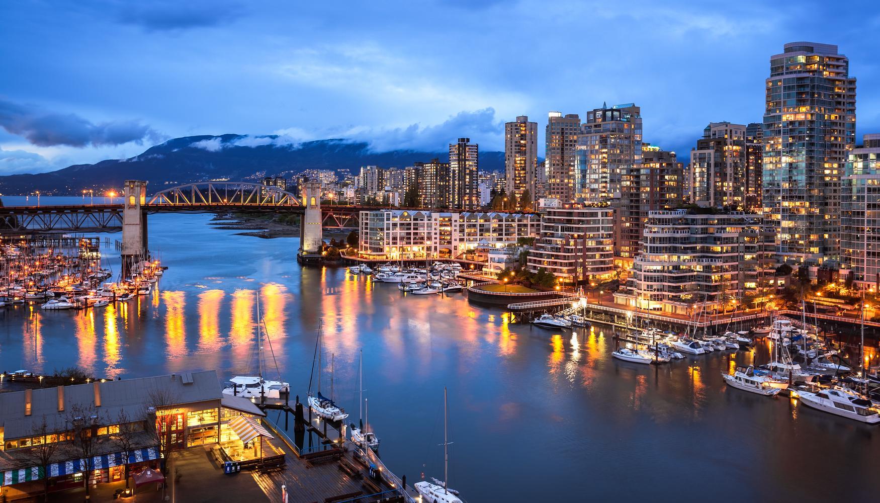 Autonvuokraukset Vancouver Intl lentokenttä