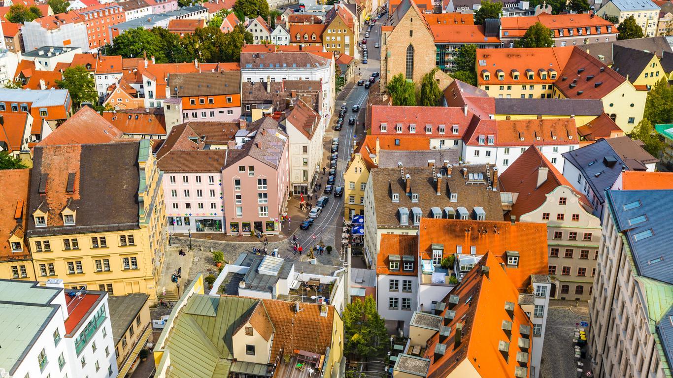 Augsburg autoverhuur
