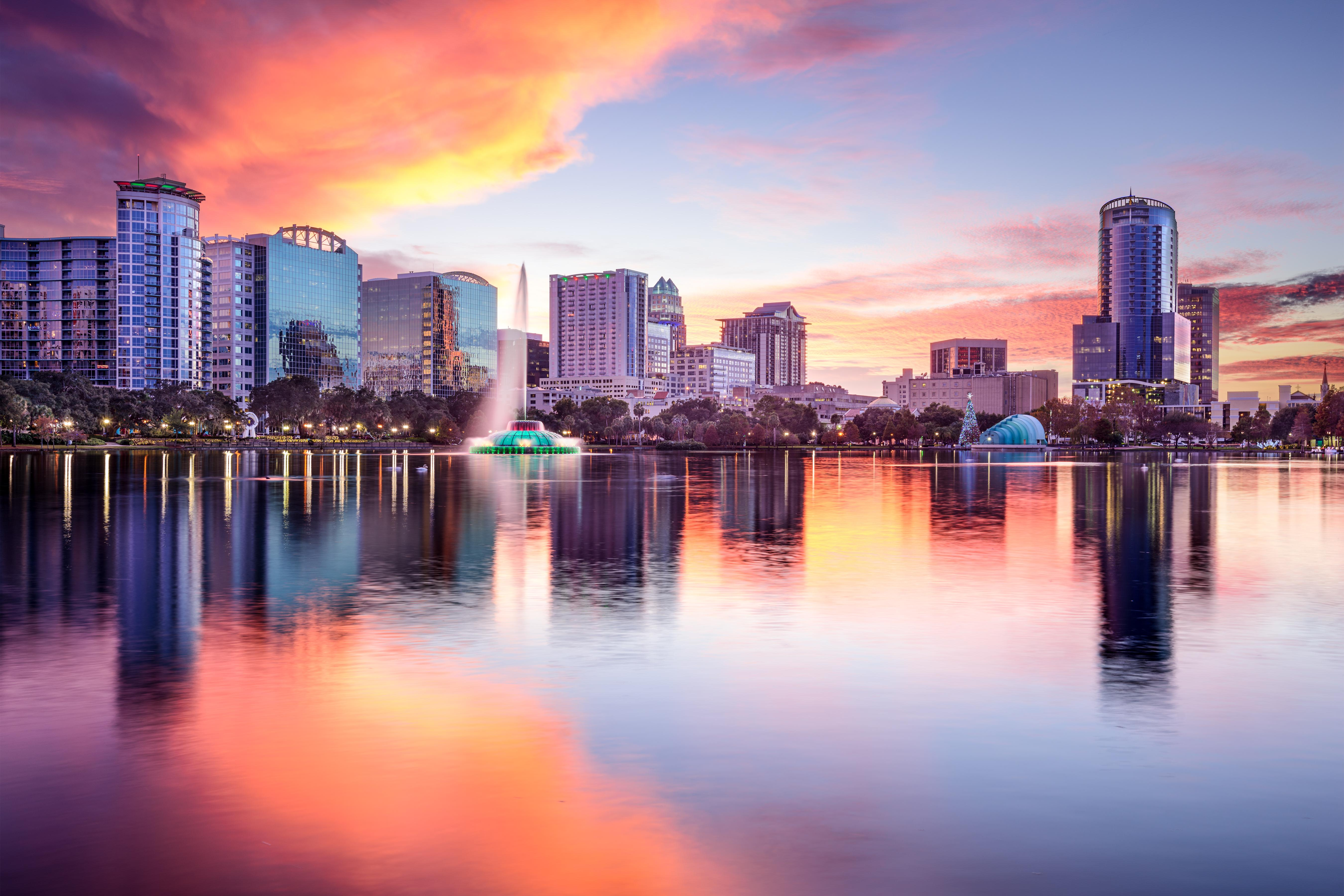Find the best flight from New York City to Orlando - International
