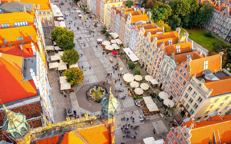 Hoteles en Gdansk