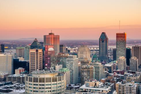 Offres d'hôtels à Montréal