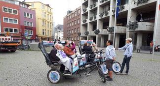 Excursión en bicicleta para grupos pequeños de Colonia con guía