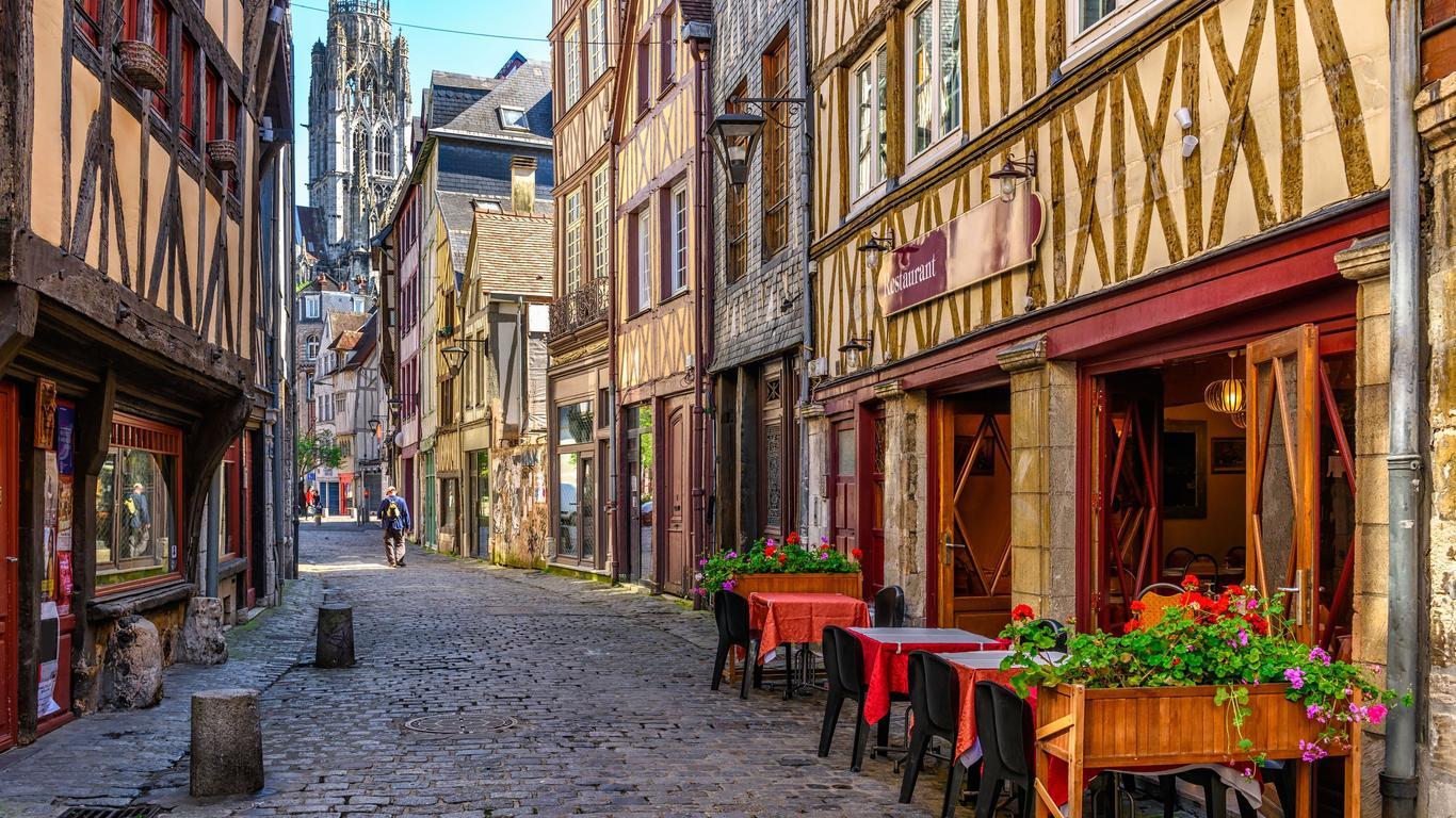 Rouen car rentals