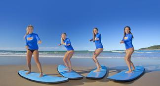 Noosa Heads: 2-Hour Surf Lesson with Local Instructor