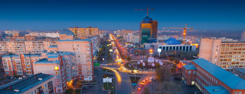 Autonvuokraukset Orenburg lentokenttä