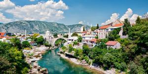 Biler i Mostar
