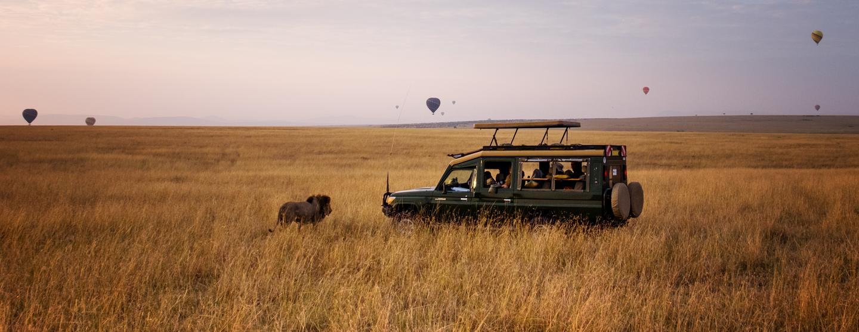 Sewa Mobil di Bandara Maasai Mara Mara Lodges