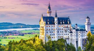 Recorrido de 7 días de duración por parte de Europa desde Fráncfort: Alemania, República Checa, Eslovaquia, Hungría, Austria y Suiza