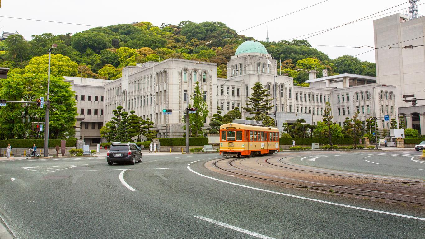 Mietwagen in Matsuyama