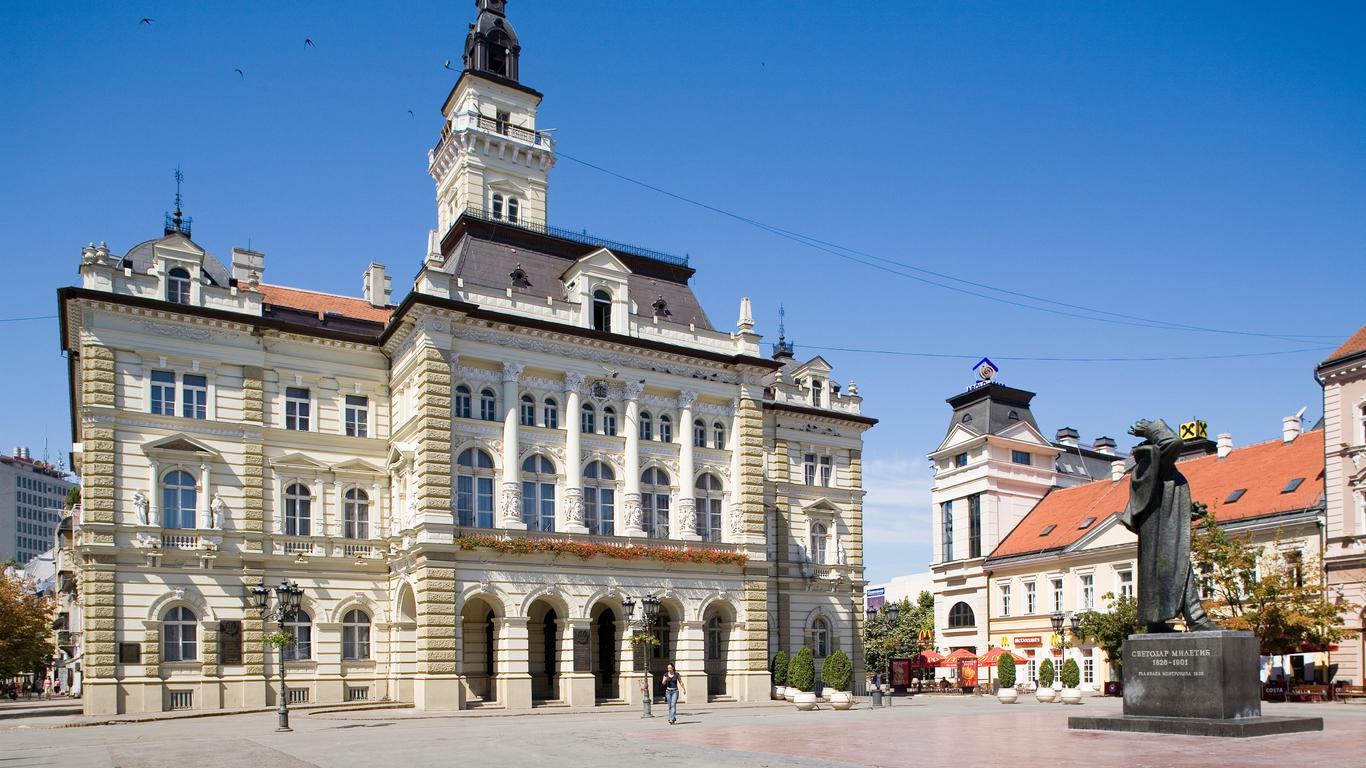 Alquiler de autos en Novi Sad