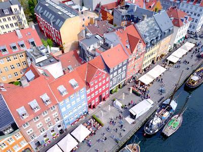 hotéis em Copenhaga