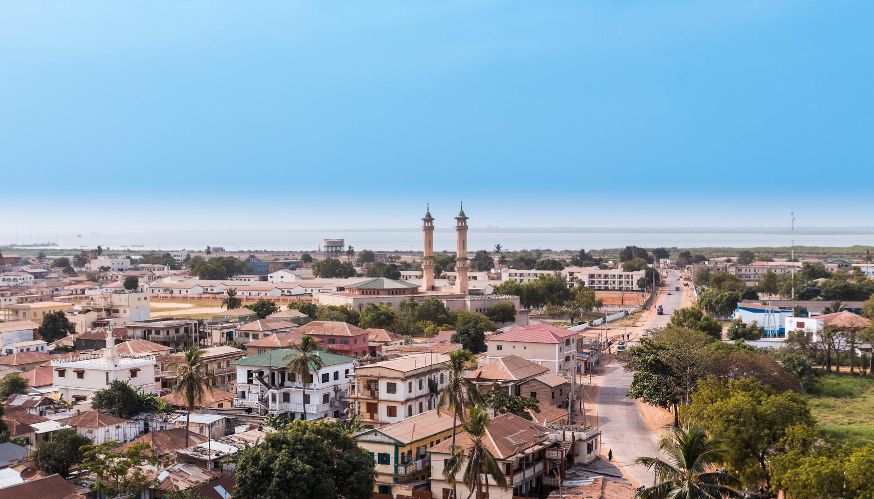 Hyrbilar på Banjul flygplats