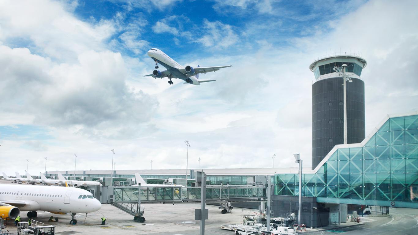 Hyrbilar på Barcelona-El Prat flygplats