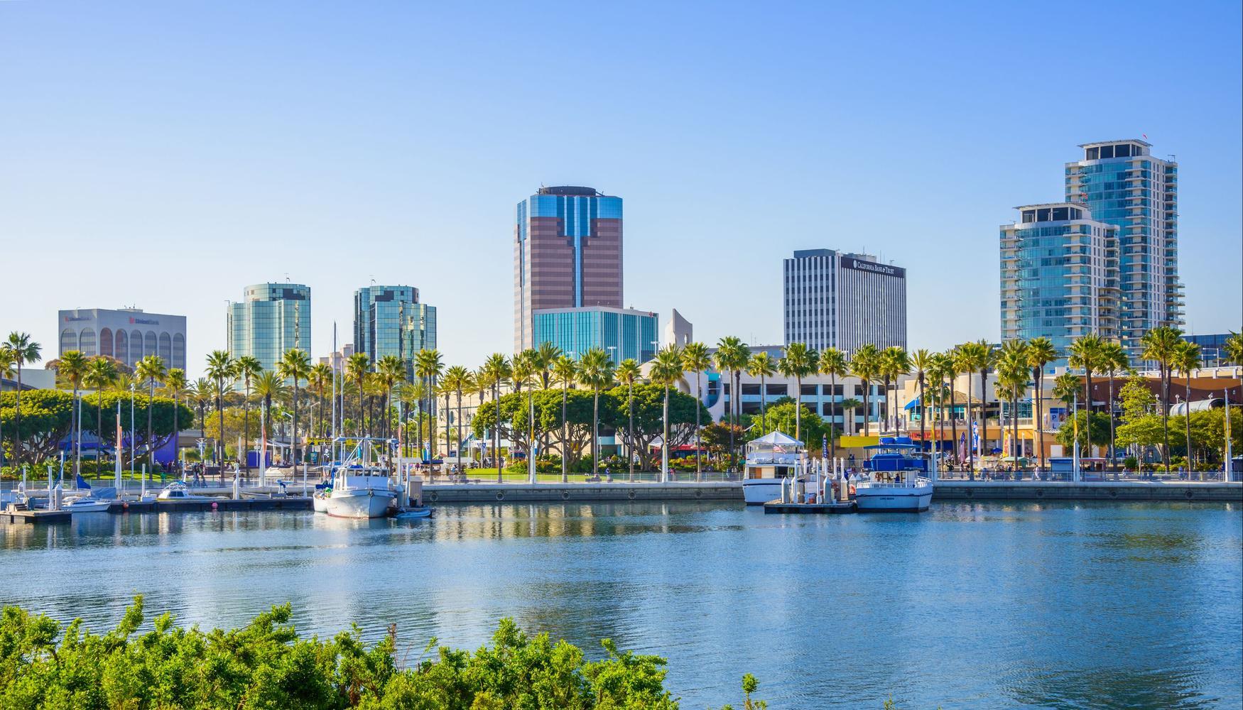 Autonvuokraukset Long Beach Municipal lentokenttä