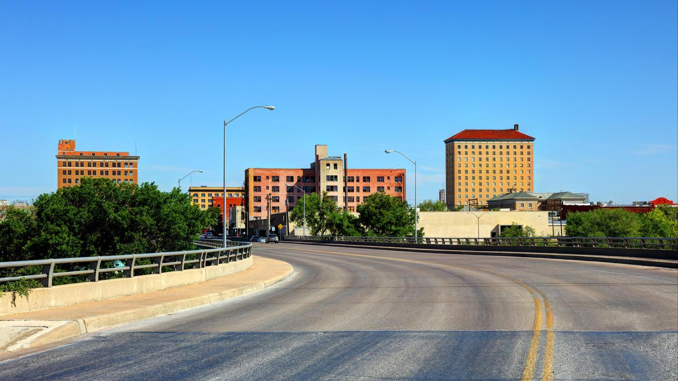 San Angelo autoverhuur