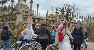 Expérience d'une journée complète à la découverte des SouthDowns et SevenSisters au départ de Brighton