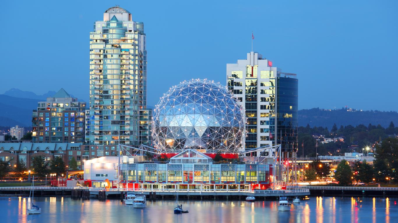Auto de alquiler en Aeropuerto Vancouver Intl