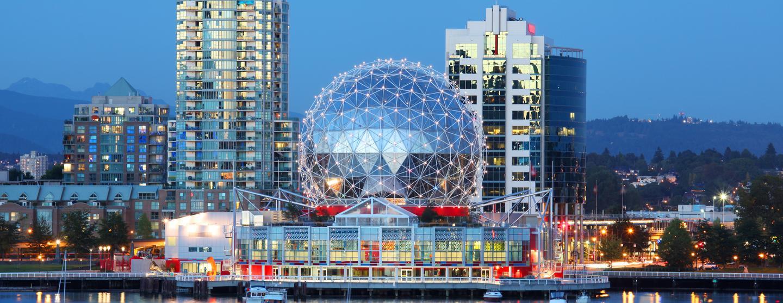 Car rental at Vancouver Intl Airport