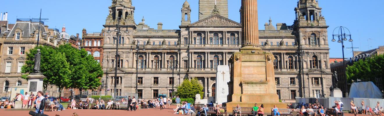Glasgow hotellia