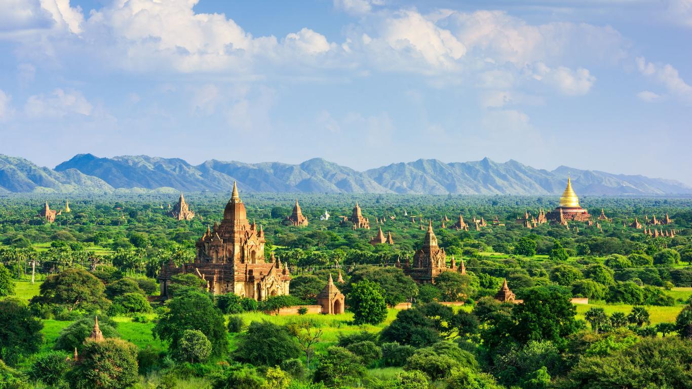 Pronájem aut Bagan