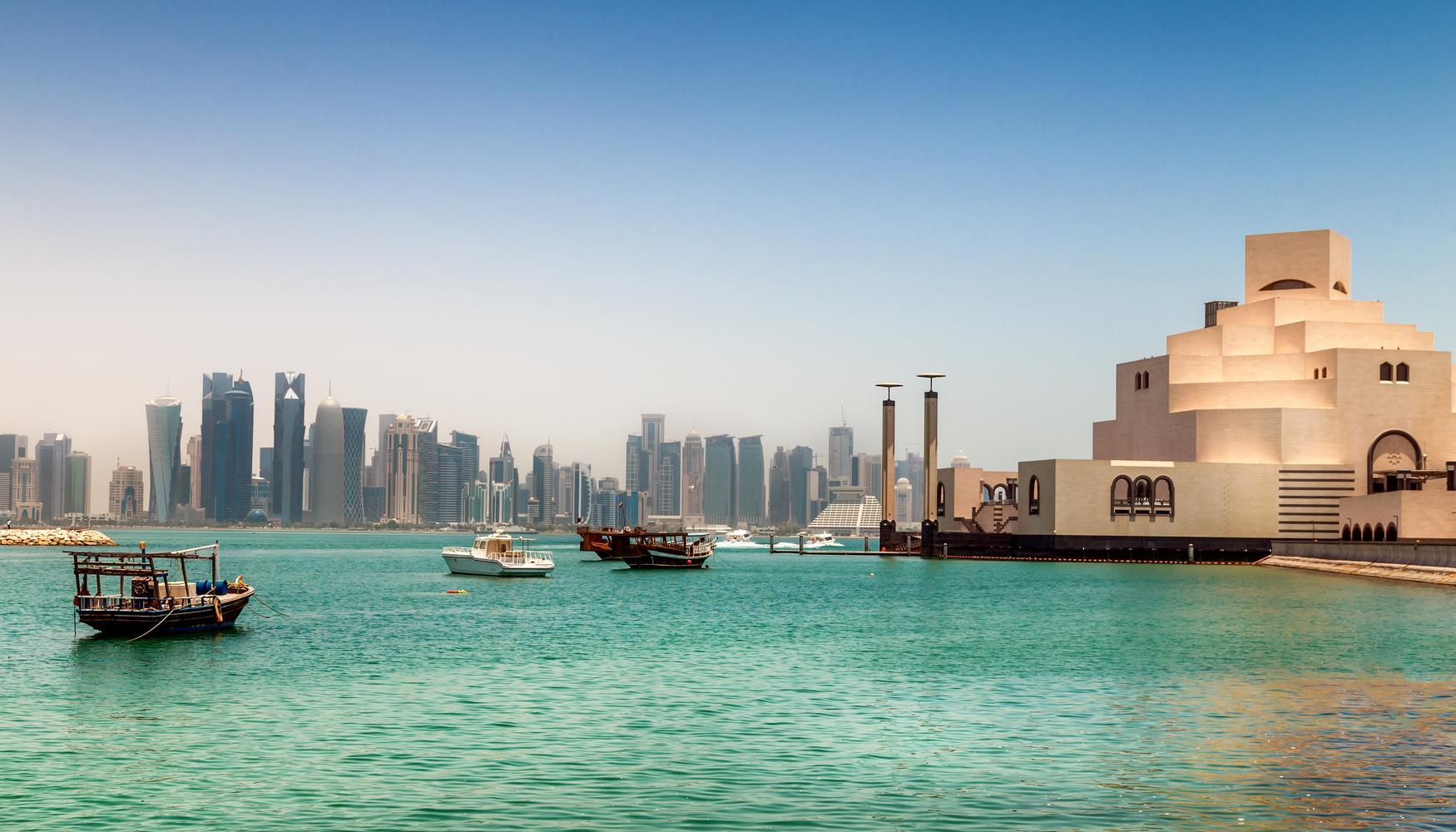 Hyrbilar på Doha Hamads internationella flygplats