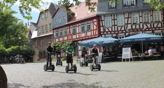 Frankfurt: 2 horas verde Segway Tour