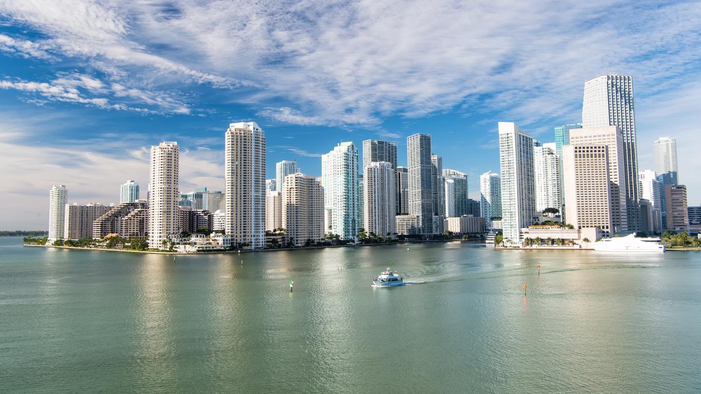Leiebiler i Miami