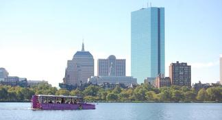 Tour « Boston Duck »