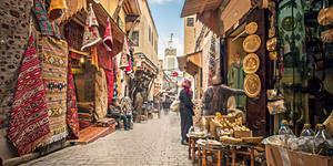 Leiebiler i Fez