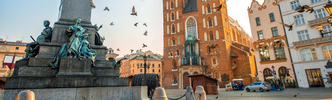 Ξενοδοχεία στην πόλη Κρακοβία