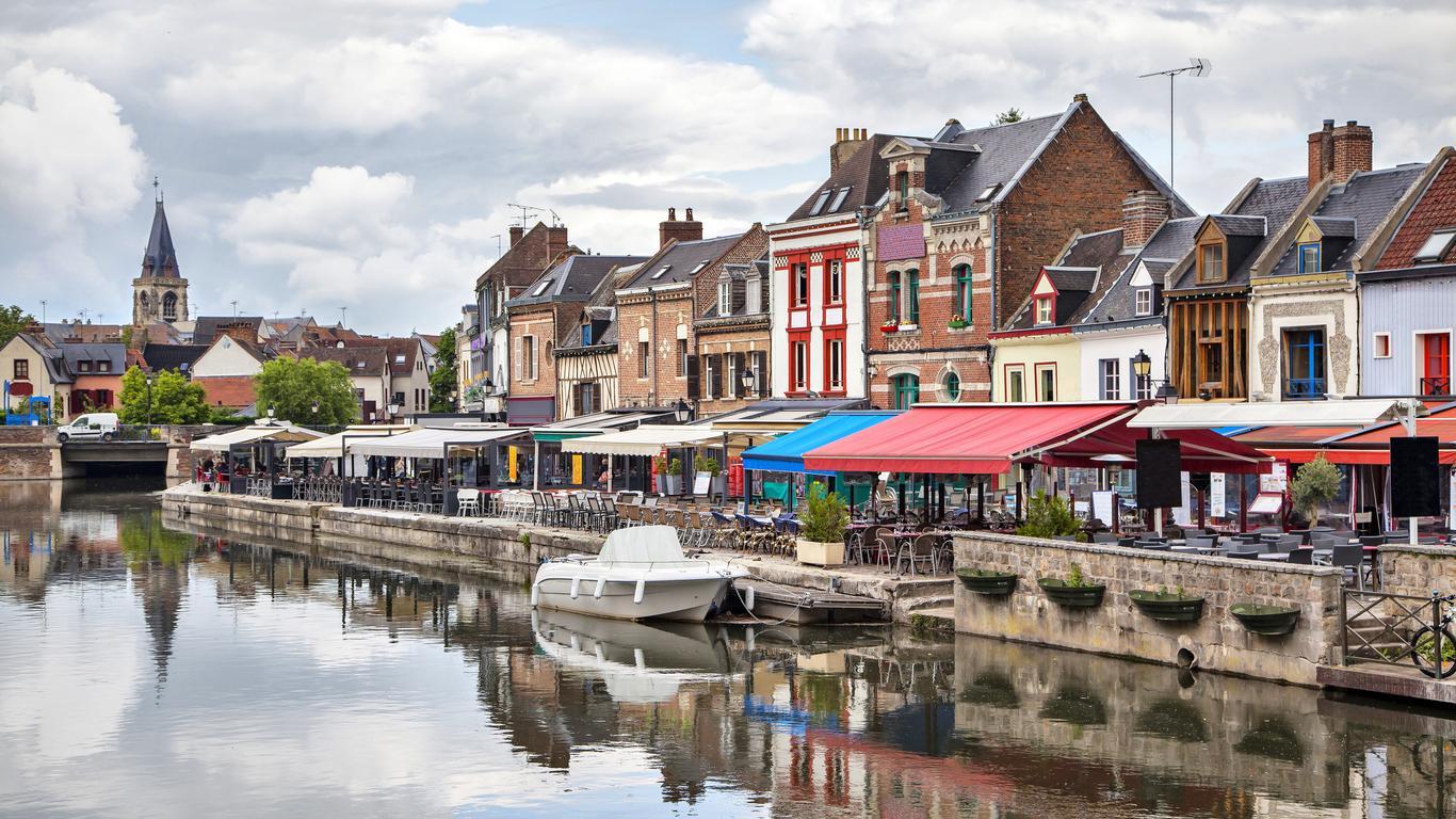 Coches de alquiler en Amiens
