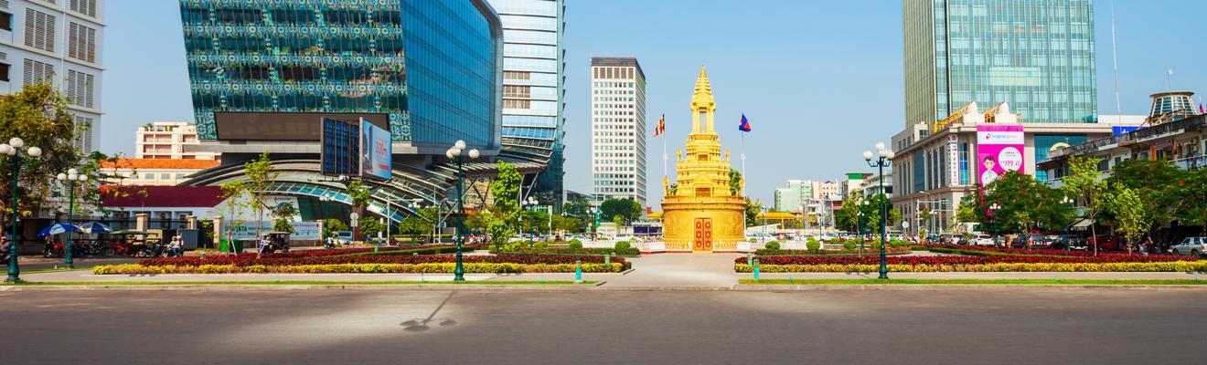 Ξενοδοχεία στην πόλη Πνομ Πενχ