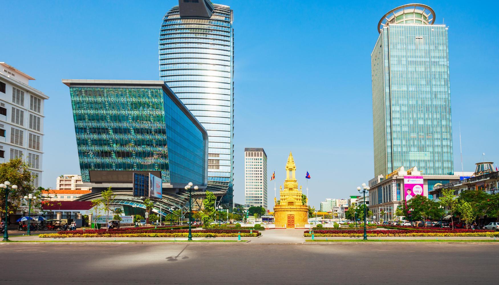 Hyrbilar på Phnom Penh Pochentong flygplats