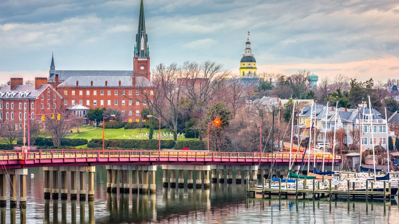 Coches de alquiler en Annapolis