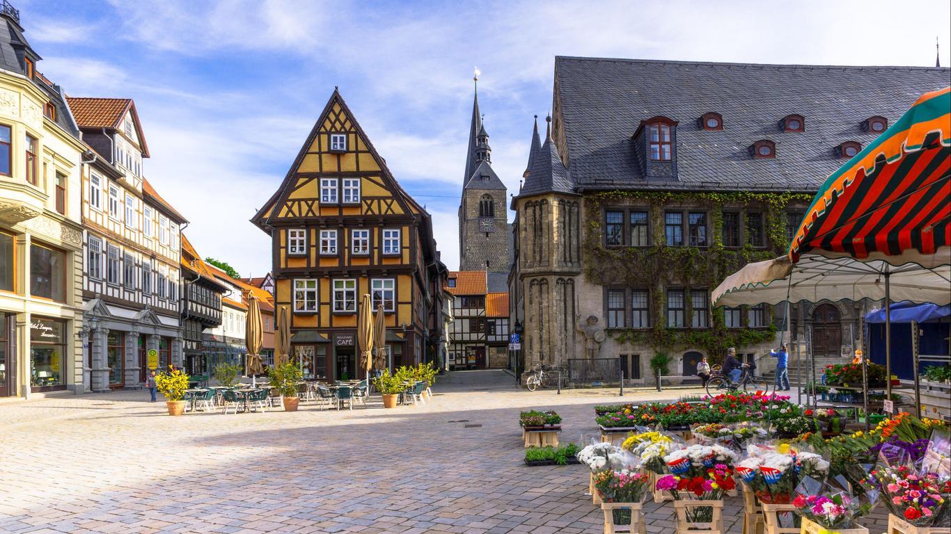 Quedlinburg car hire