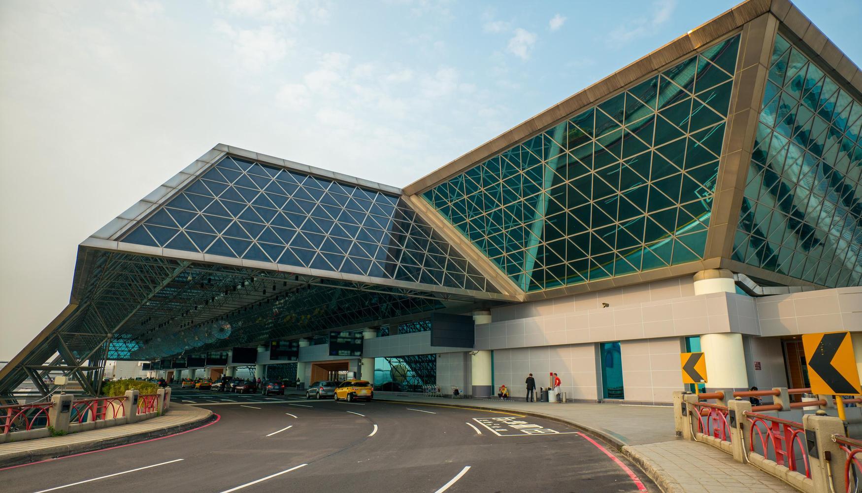 Hyrbilar på Taipei Taiwan Taoyuan Intl flygplats