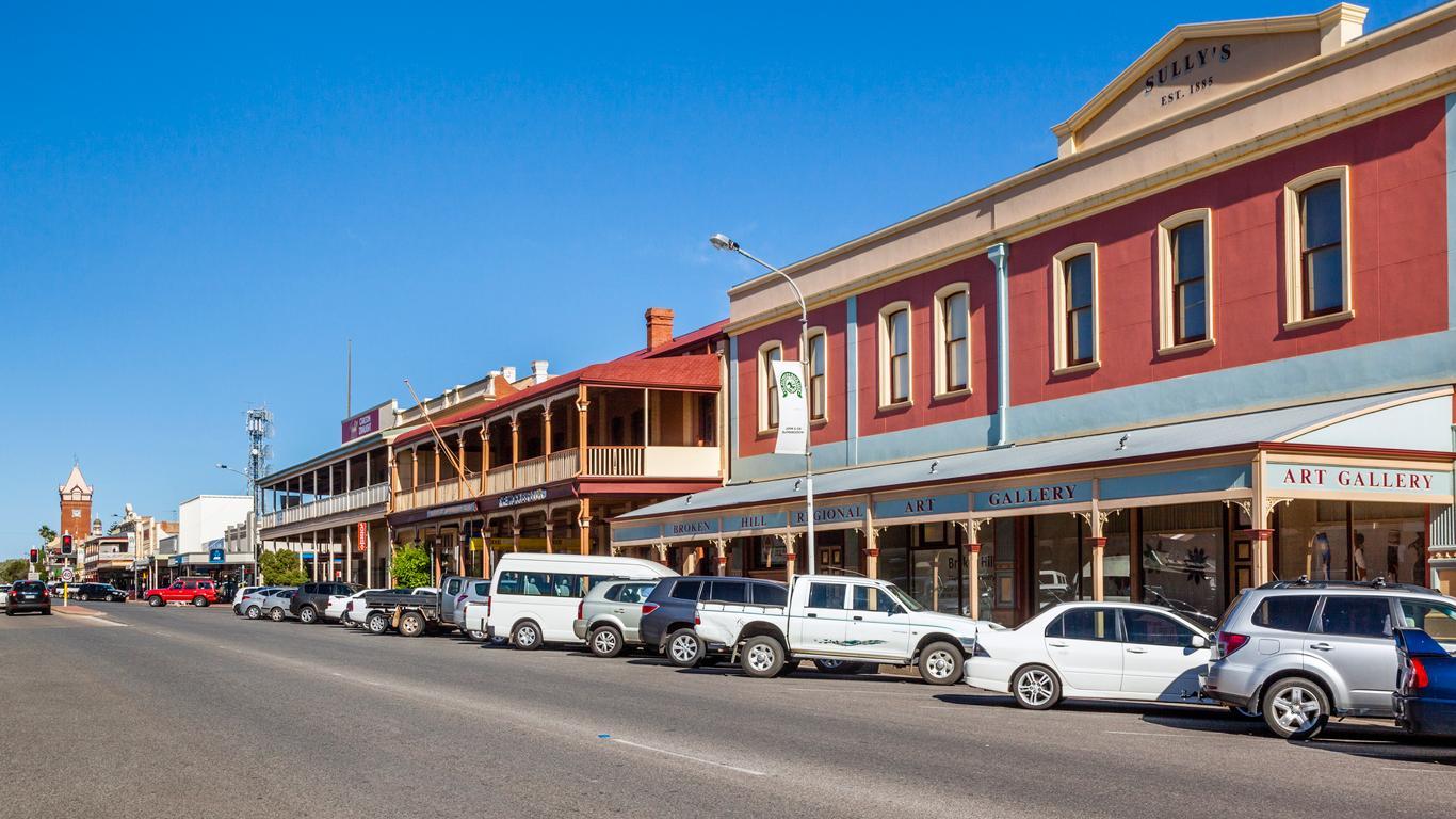 Broken Hill autoverhuur