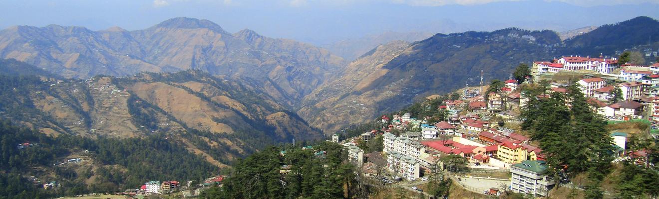 Ξενοδοχεία στην πόλη Shimla