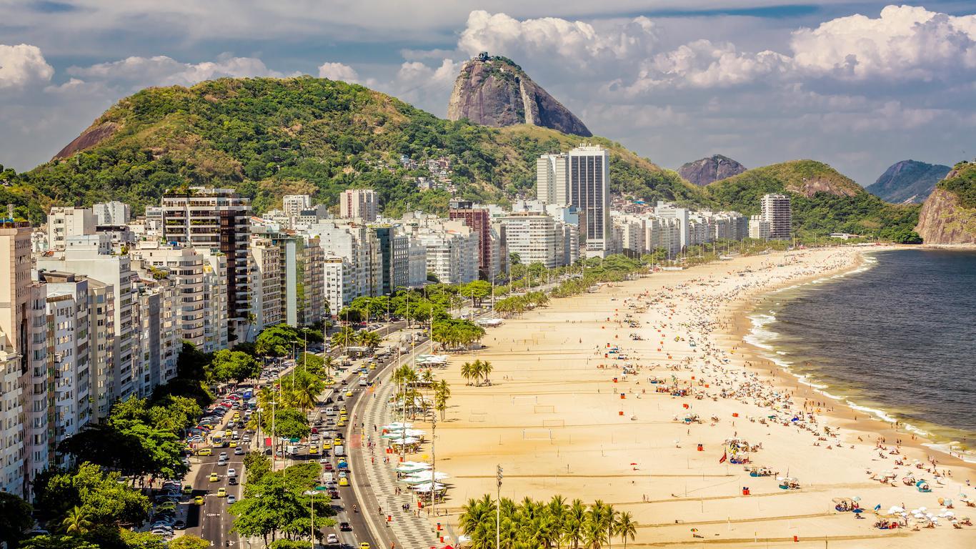 Car rental at Rio de Janeiro–Galeão Intl Airport