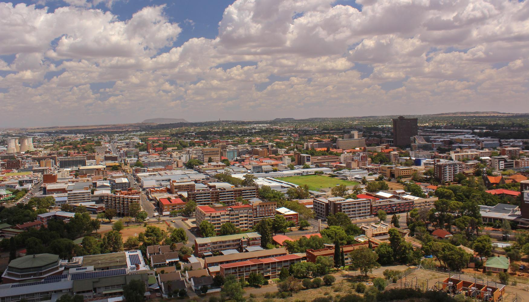 Carros de aluguer em Aeroporto de Bloemfontein