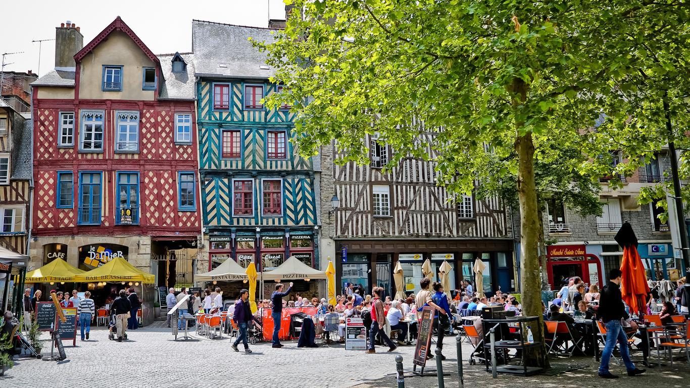 Mietwagen in Rennes
