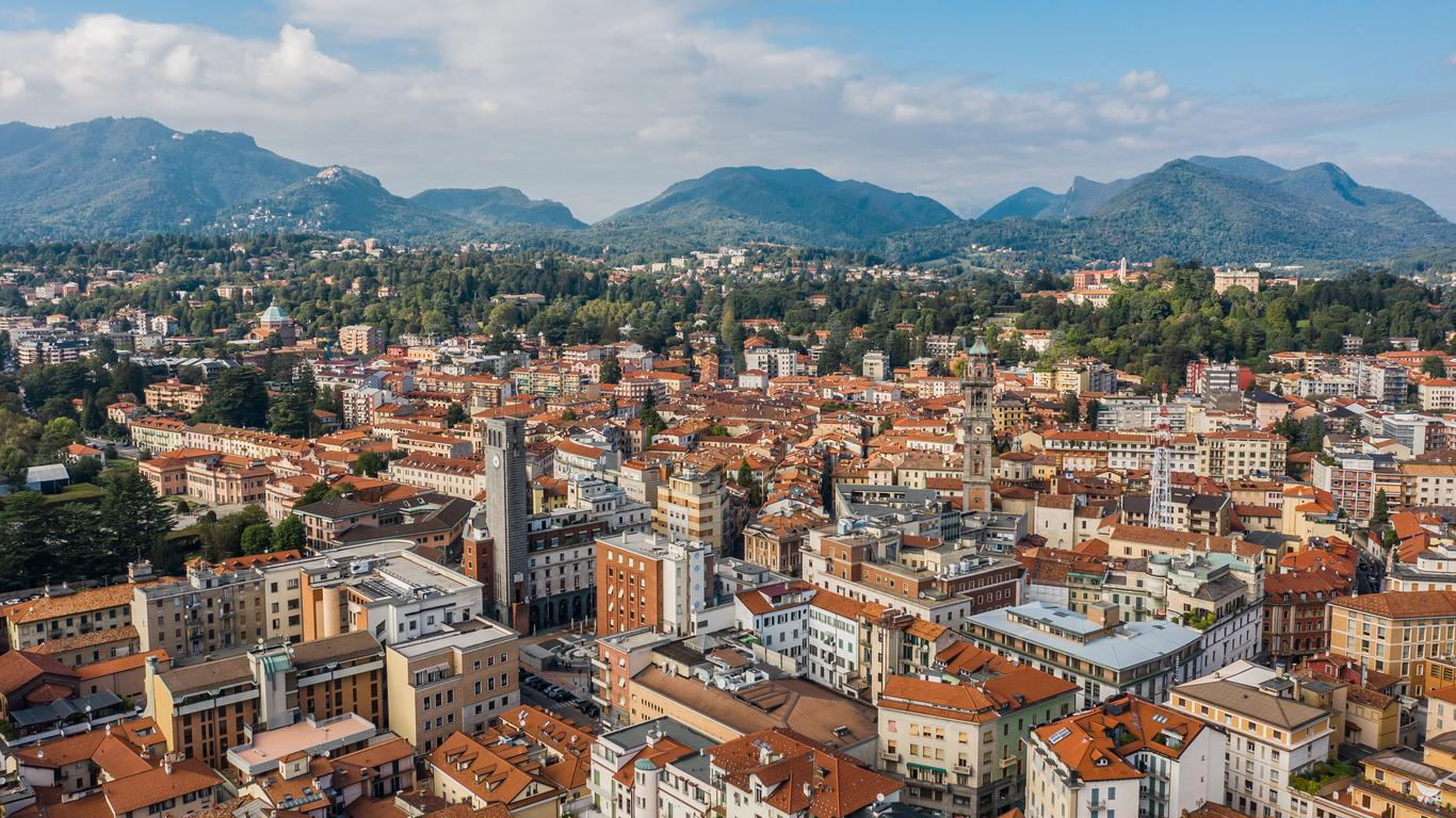 Coches de alquiler en Varese